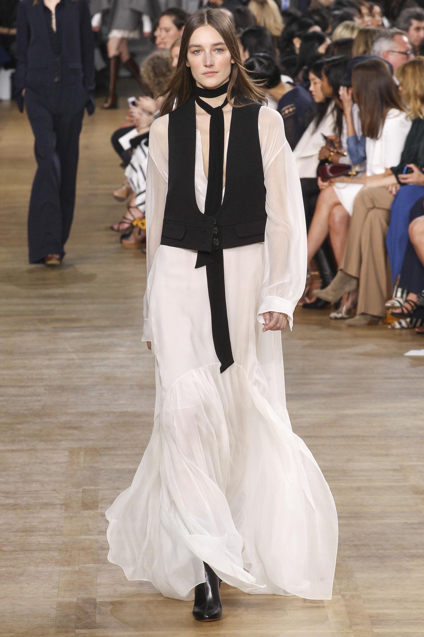 Elbise-ve-Yelek-Kombini - moda Kış Modasında Beyaz 2016 Kış Modasında Beyaz Kullanımı