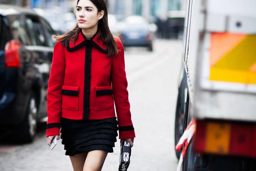 Kırmızı Kombin Önerileri 2016 - George-Angelis-Patricia-Manfield-Milan-Fashion-Week-Fall-Winter-2015-2016-Street-Style