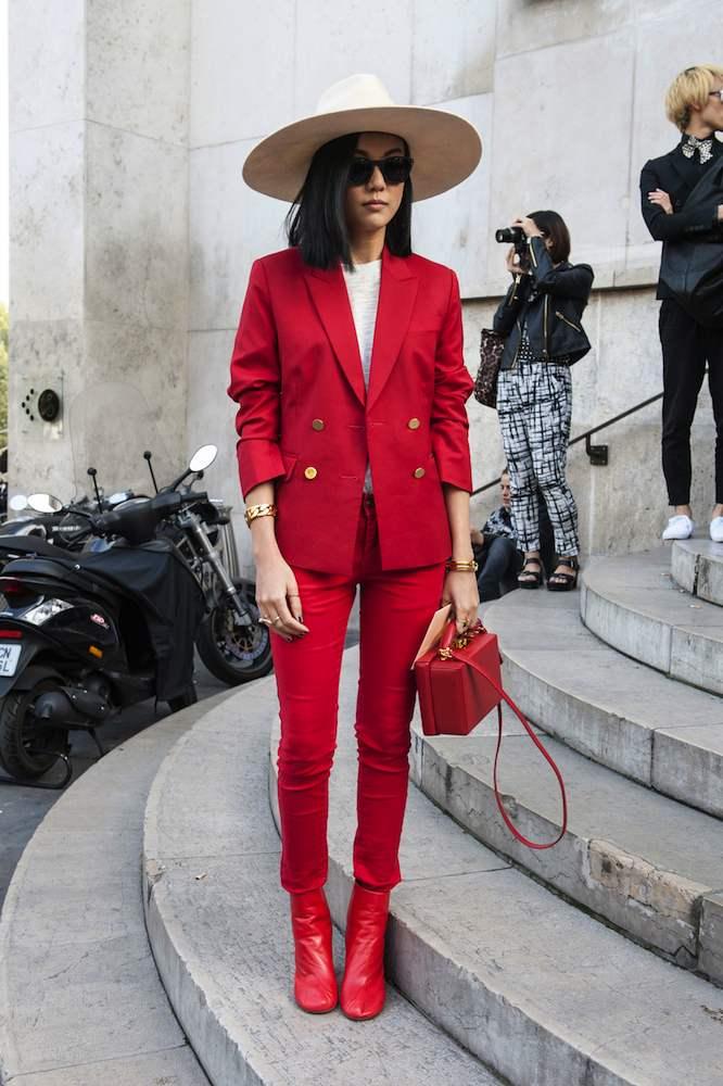 Kırmızı Kombin Önerileri 2016 - simple-fashion-styleator-with-fashion-style-2016-with-paris-fashion-week-street-style-spring-2016