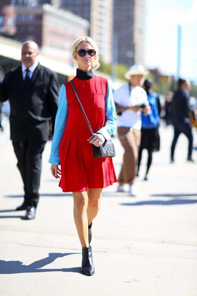 Kırmızı Kombin Önerileri 2016 - spring-2016-fashion-show-the-impression - 1