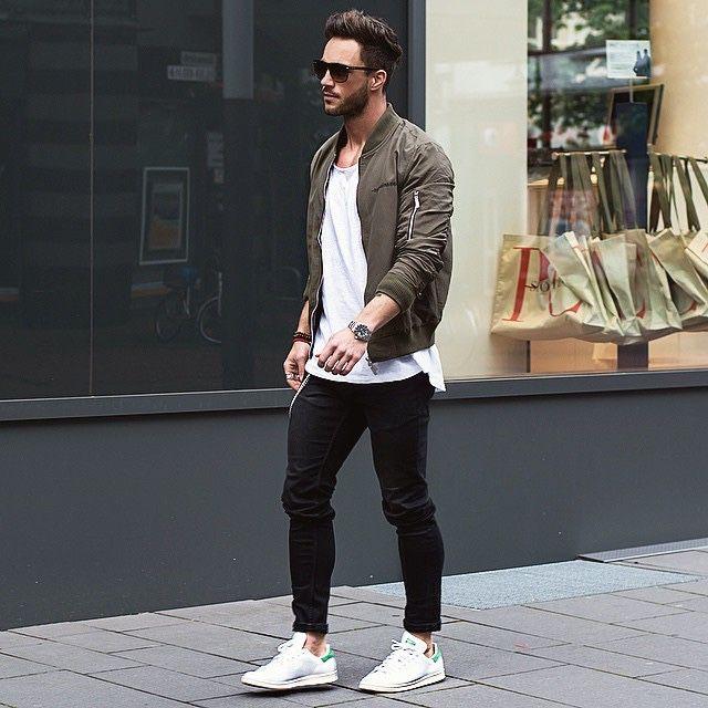 Modern Erkek sokak stili ve kombinleri - 17