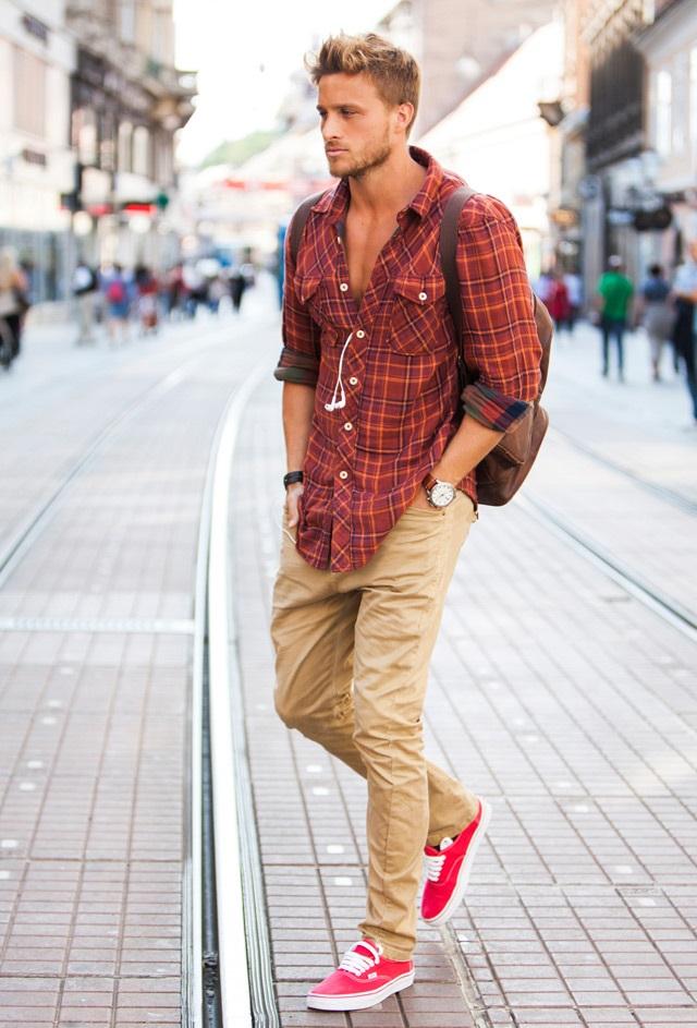 Modern Erkek sokak stili ve kombinleri - 7