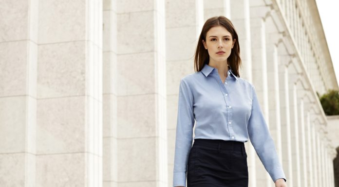 Kadın Mavi Gömlek Modelleri 1