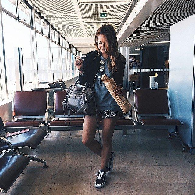 25 Mükemmel Tatil Kıyafetleri (bayanlar için) Airport-style-all-about-layering