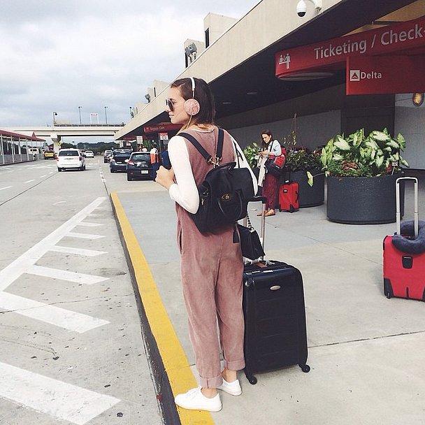 Overalls-airport - 25 Mükemmel Tatil Kıyafetleri (bayanlar için)
