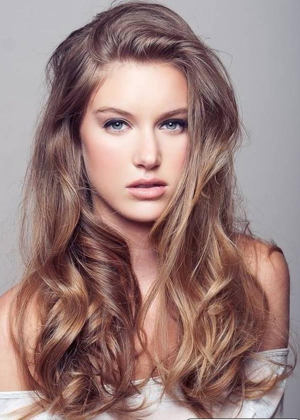 uzun saç modeli