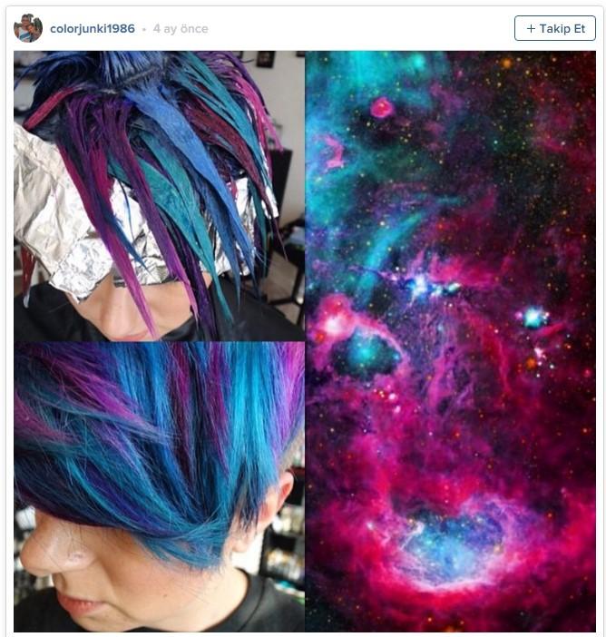 Uzay saçı, yağlı saçlardan sonra yeni trend1