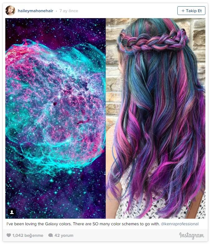 Uzay saçı, yağlı saçlardan sonra yeni trend3