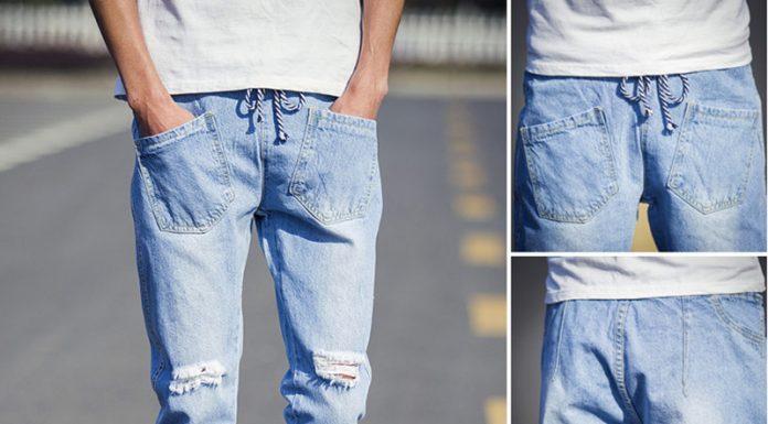 2016 Yırtık Erkek Pantolon Modelleri 1