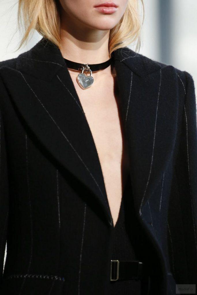 2016 Choker – Calvin Klein Collection Fall 2016 Ready-to-Wear Fashion Show …