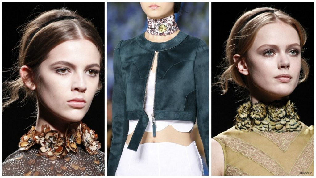 STRAIGHT FROM THE '90s – THE CHOKER TREND. 2016