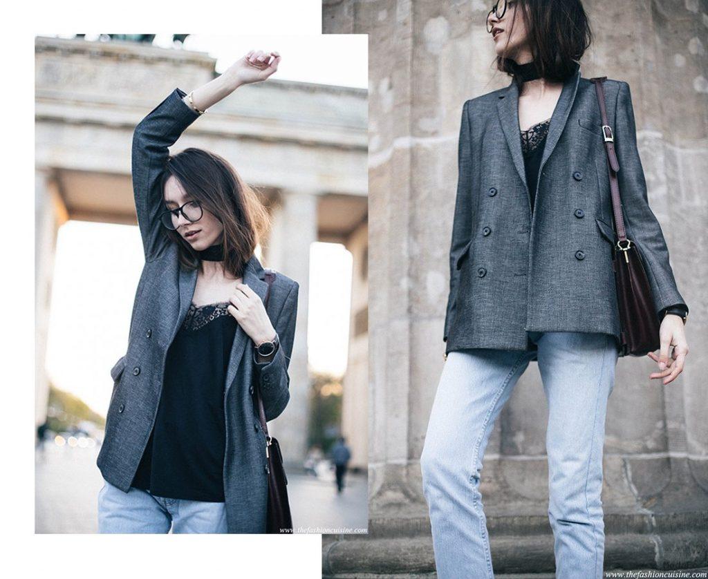 Wide Choker & Lace Cami in Berlin • The Fashion Cuisine