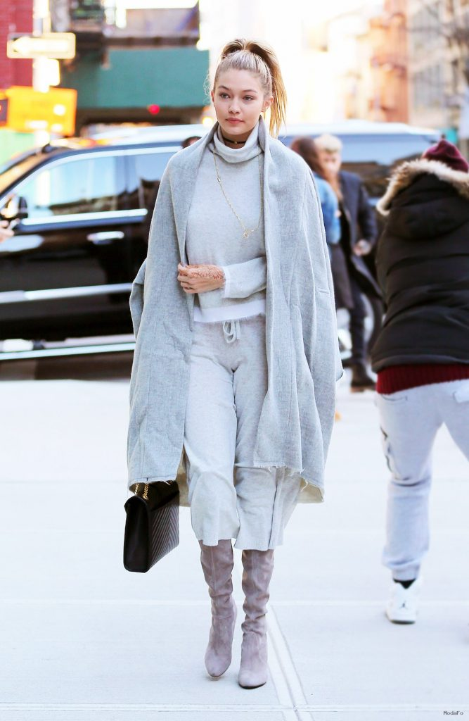 Gigi Hadid Proves The Street-Ready Power Of Loungewear