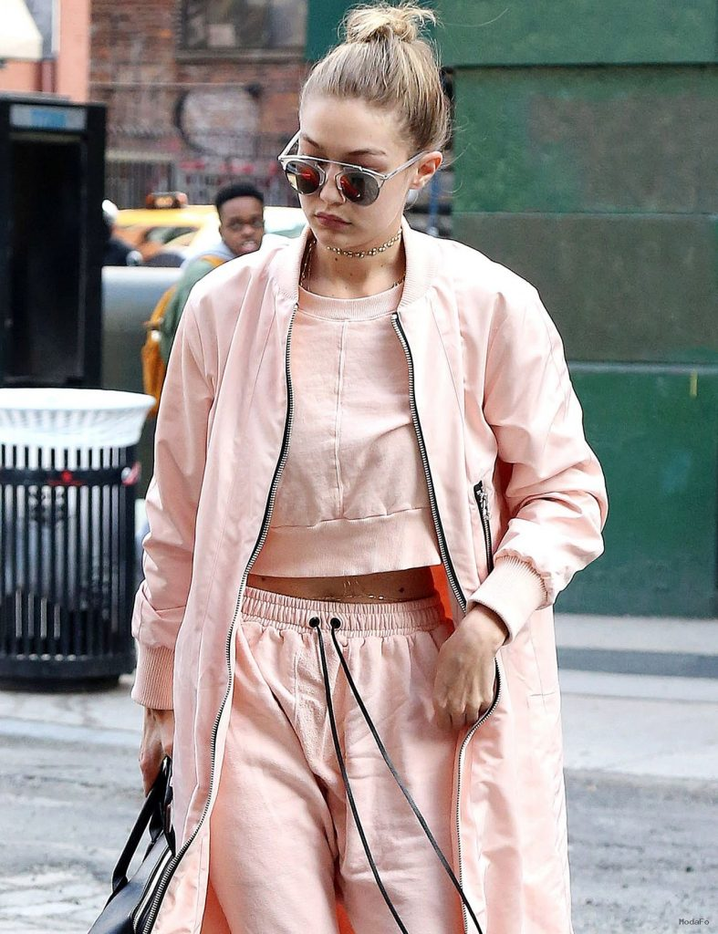 Gigi Hadid Street Style – Out in New York City 4/11/2016