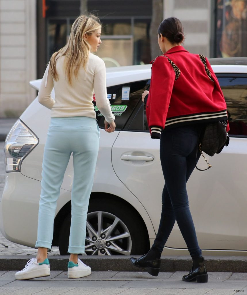 Gigi Hadid Street Style – Out in Paris, March 2015