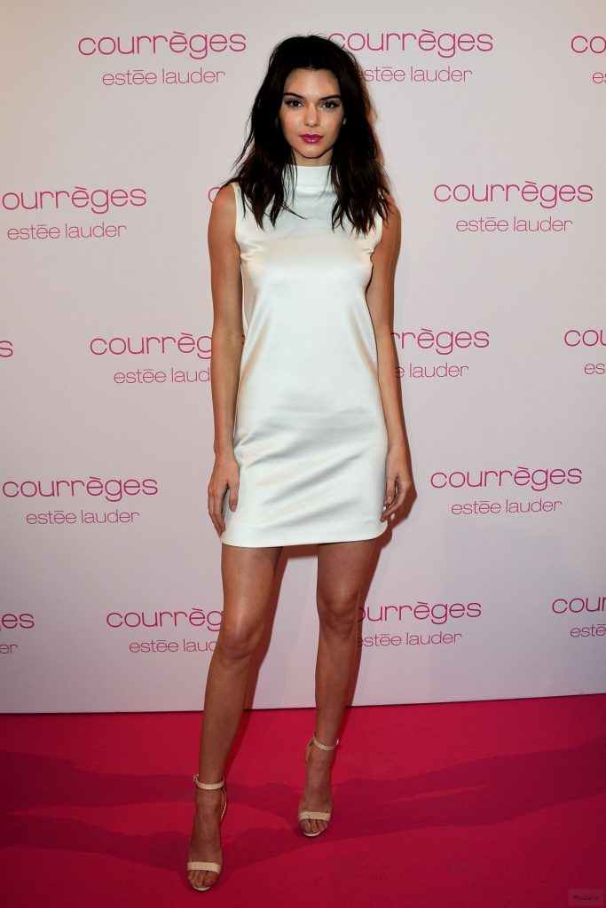 Kendall Jenner Fashion - Courreges and Estee Lauder Dinner Party ...